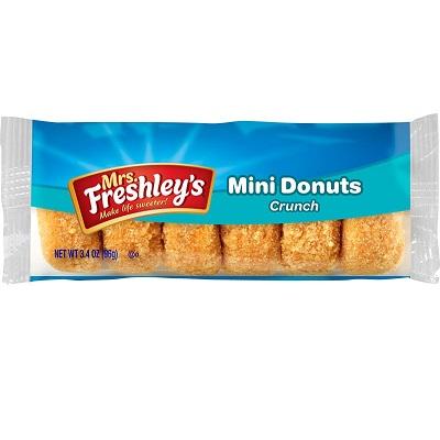 Mrs. Freshley's Crunch Mini Donuts thumbnail