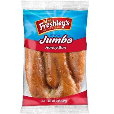 Mrs. Freshley's Cinnabon Honey Bun 5oz thumbnail