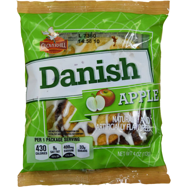 Cloverhill Apple Round Danish thumbnail