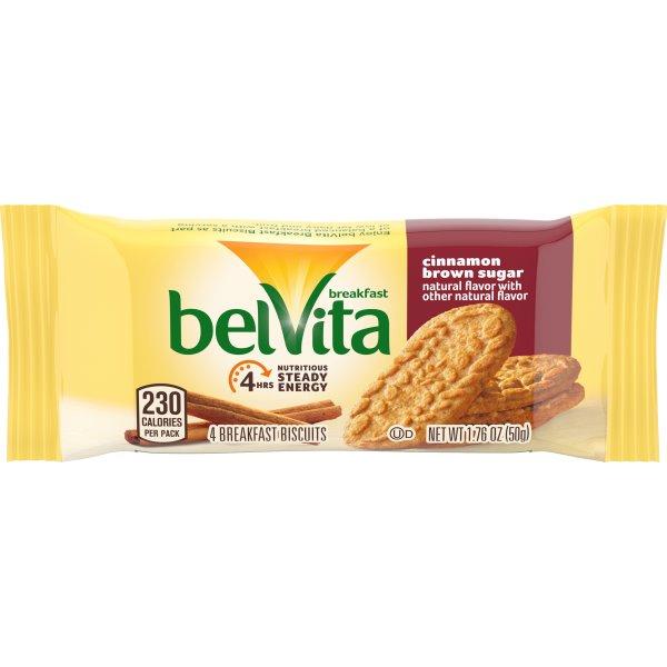 Belvita Cinnamon Brown Sugar Breakfast Biscuits thumbnail
