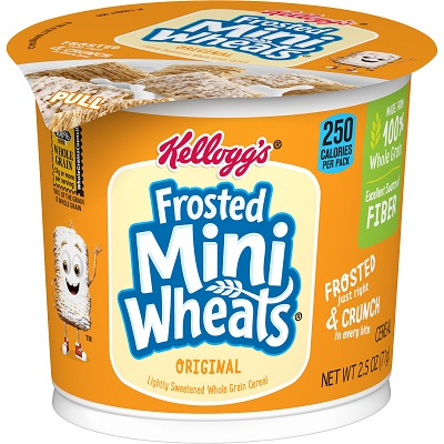 Frosted Mini Wheats Cereal Cup thumbnail