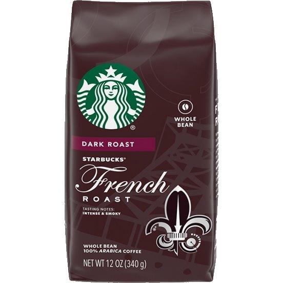Starbucks Whole Bean French Roast 6/1lb thumbnail