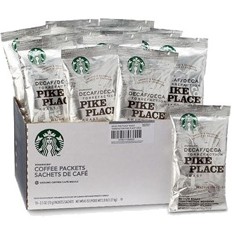 Starbucks Coffee Decaf Pike Place Roast PP thumbnail