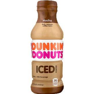 Dunkin Donuts Mocha Iced Coffee 13.7oz thumbnail