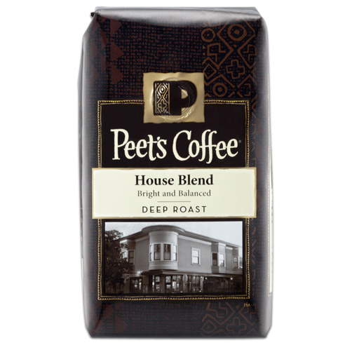 Peet's Coffee House Blend Whole Bean 1lb thumbnail