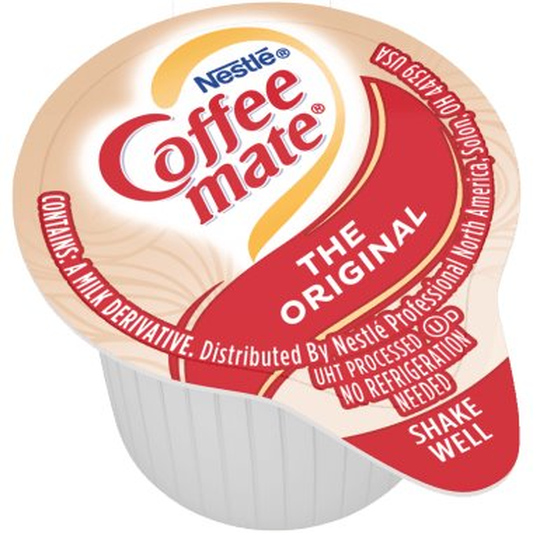 Coffeemate Original Liquid Cream Cups 50ct thumbnail