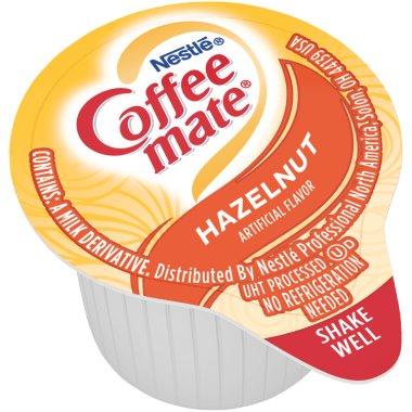 Coffeemate Hazelnut Liquid Cream Cups 50ct thumbnail