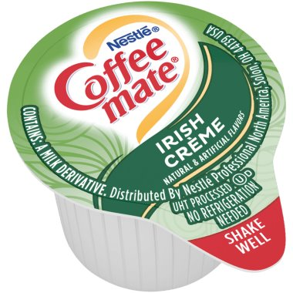 Coffeemate Irish Cream Liquid Cream Cups 50ct thumbnail