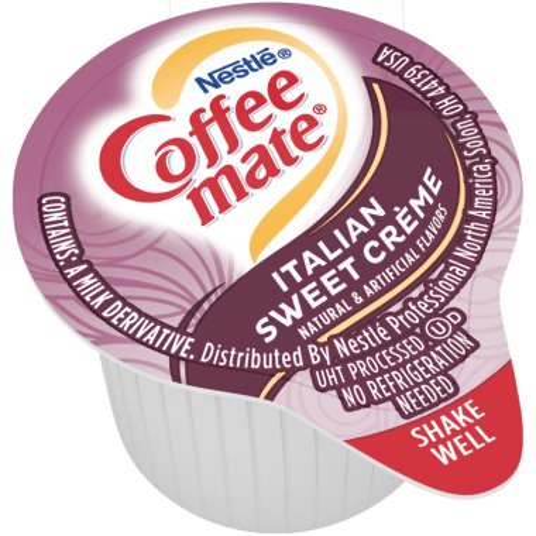 Coffeemate Italian Sweet Creme Liquid Cream Cups 50ct thumbnail