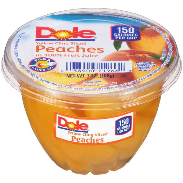 Dole Peaches/Fruit Cups thumbnail