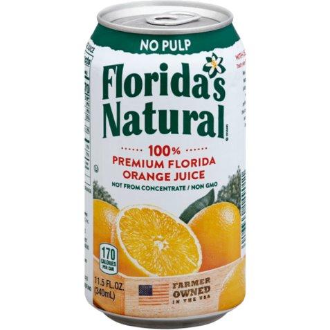 Florida Natural 100% Orange Juice 12oz thumbnail