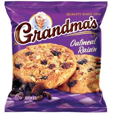 Grandma's Cookies Oatmeal Raisin thumbnail