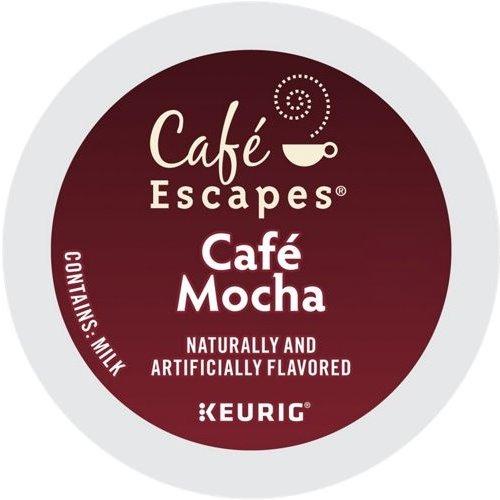K-Cup Cafe Escapes Cafe Mocha thumbnail