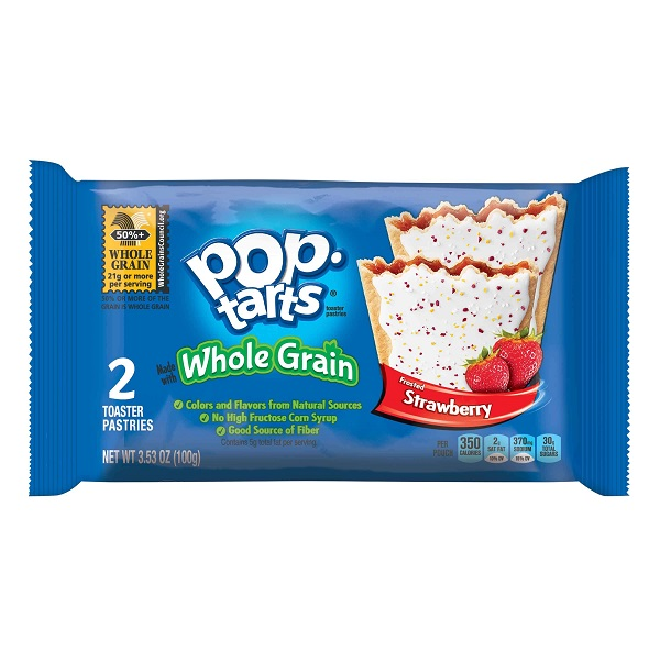 Pop Tart Whole Grain Strawberry 6ct Box thumbnail