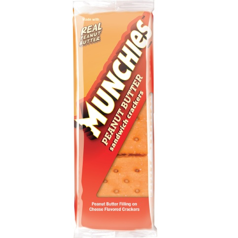Munchies Cheese Peanut Butter Crackers 1.42oz thumbnail
