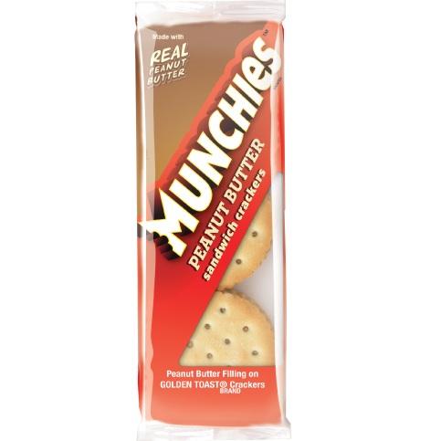 Munchies Toasty Peanut Butter Crackers 1.42oz thumbnail