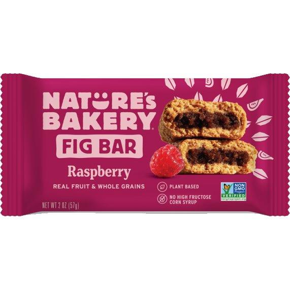 Natures Bakery Fig Bar Whole Wheat Raspberry thumbnail