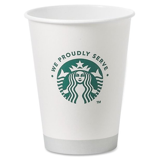 Starbuck's 12oz Hot Cup 20/50 thumbnail