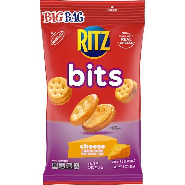 Ritz Bitz Cheese Crackers 3oz thumbnail