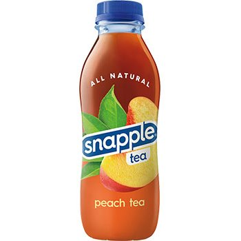 Snapple Peach 16oz thumbnail