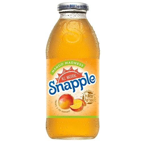 Snapple Mango Madness 16 oz thumbnail