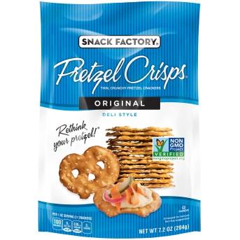 Snack Factory Pretzel Crisps Original thumbnail