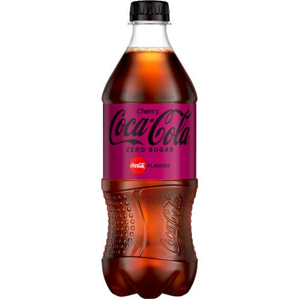 Coke Cherry Zero 20oz thumbnail