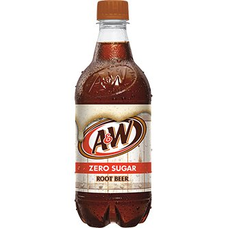 Diet A&W Root Beer 20oz thumbnail