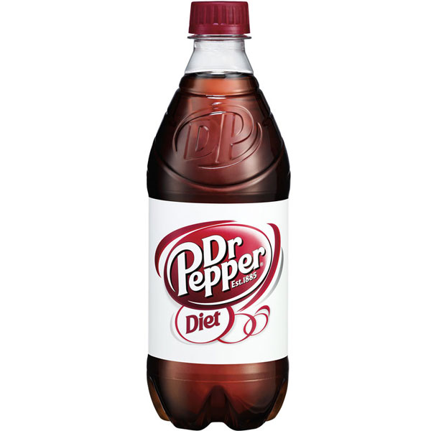 Diet Dr. Pepper 20oz thumbnail