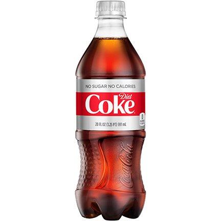 Diet Coke 20oz thumbnail