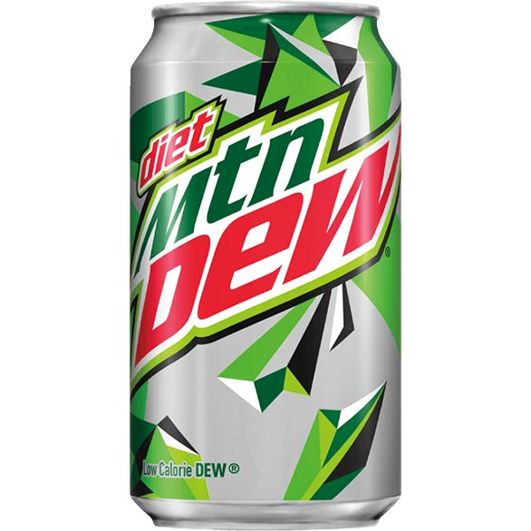 Diet Mountain Dew 12oz thumbnail