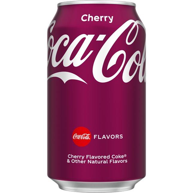 Coke Cherry 12oz thumbnail