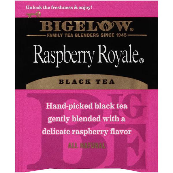 Bigelow Rasp. Royal Tea 28bx thumbnail