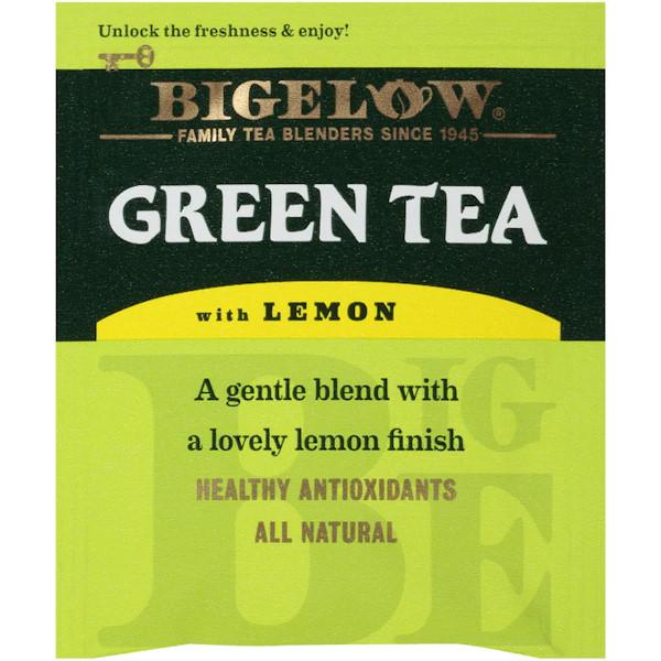 Bigelow Tea Green w/ Lemon Bag 28ct thumbnail