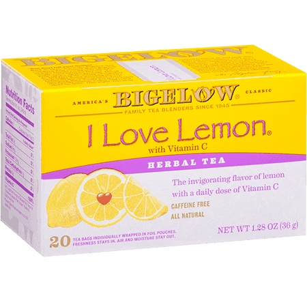 Bigelow Tea Herb I Love Lemon Bag 28ct thumbnail
