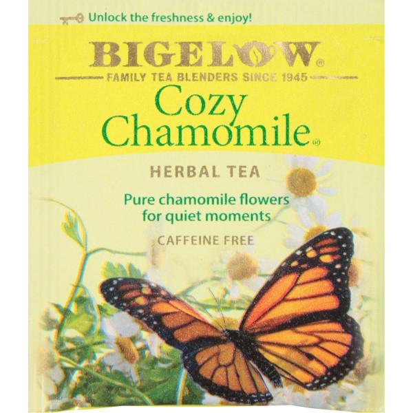 Bigelow Tea Cozy Chamomile CF Bag 28ct thumbnail