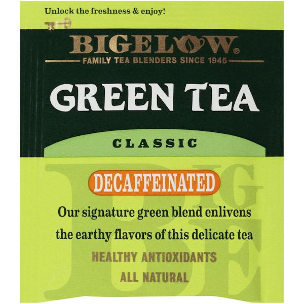 Bigelow Tea Green Decaf Bag 28ct thumbnail