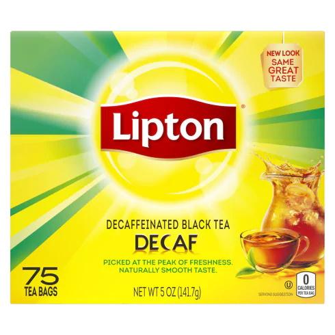 Tea Lipton Decaf 6/72ct thumbnail