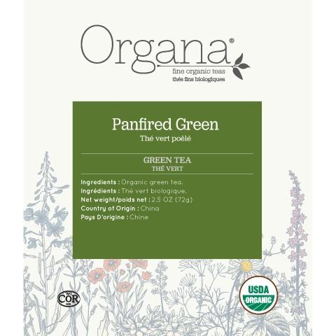 Organa Panfried Green Tea Pods 18ct thumbnail