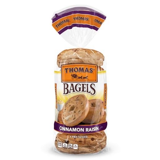 Thomas Bagels Cinnamon Raisin Bag thumbnail