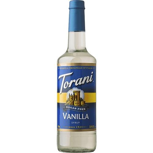 Torani Vanilla Sugar Free 750 ml thumbnail