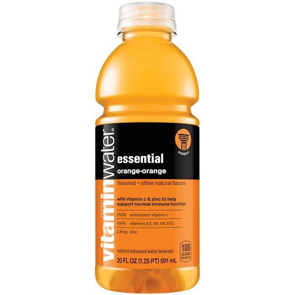 Vitamin Water Essential - Orange 20 oz thumbnail