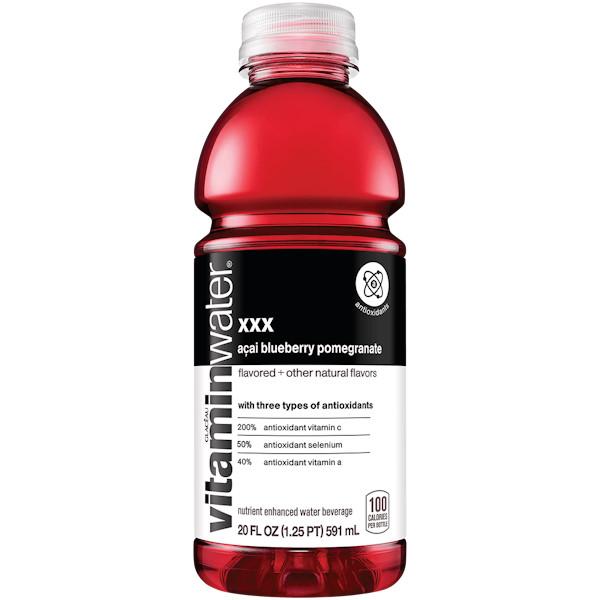 Vitamin Water XXX - Acai - Blueberry Pomegranate 20 oz thumbnail