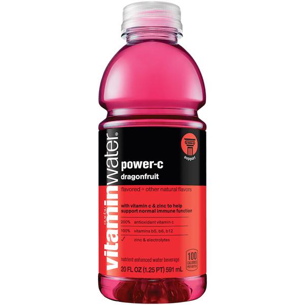 Vitamin Water Power C - Dragon fruit 20 oz thumbnail
