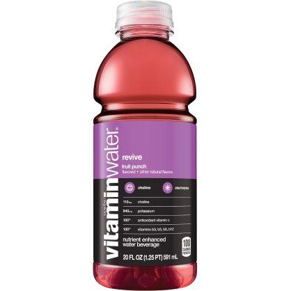 Vitamin Water Revive - Fruit Punch 20 oz thumbnail