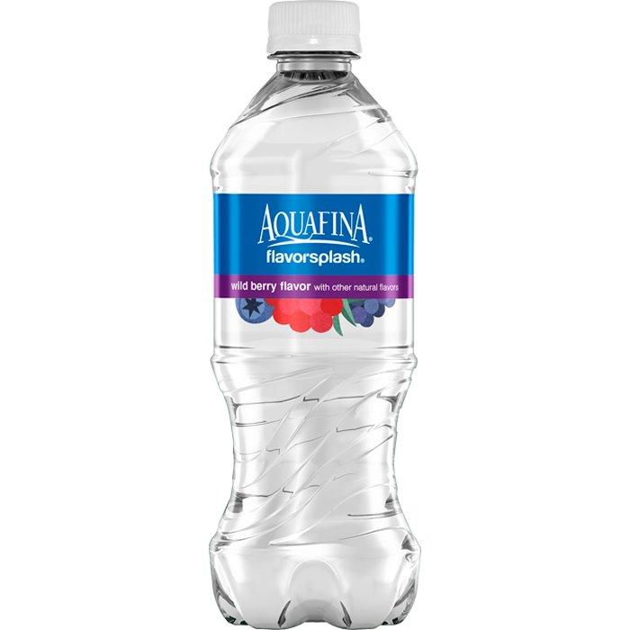 Aquafina Splash Wild Berry 20 oz thumbnail