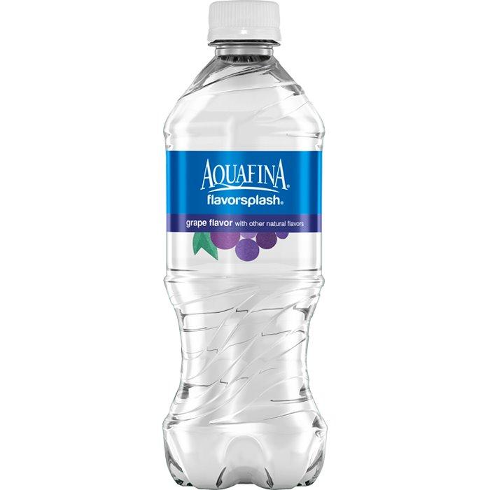 Aquafina Splash Grape 20 oz thumbnail