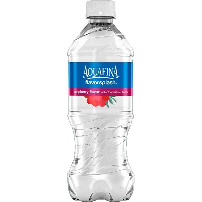Aquafina Splash Raspberry 20 oz thumbnail