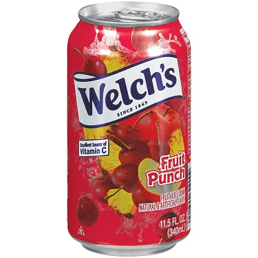 Welch's Fruit Punch 11.5oz thumbnail