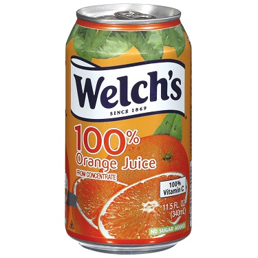 Welch's Orange Juice 11.5oz thumbnail